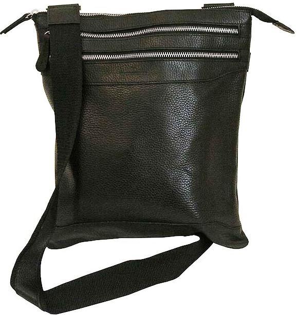 Мужская кожаная сумка Vip Collection 296.A.FLAT