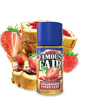 Famous Fair Strawberry Pound Cake - никотин 3 мг., 100 мл. VG/PG 70/30