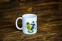 """Чашка """"Чай с кем попало не пьют. Чай - это личное"""""""