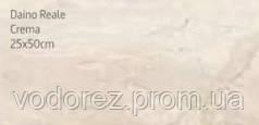 Плитка для стен Daino Reale Crema 25x50