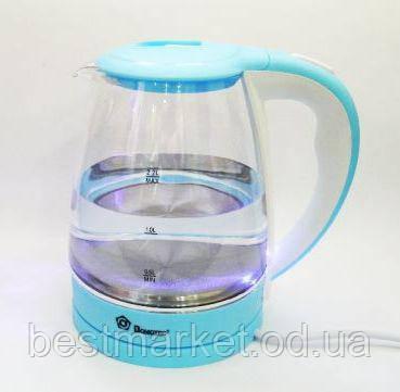 Электрический Чайник Domotec MS - 8214 Sky Blue