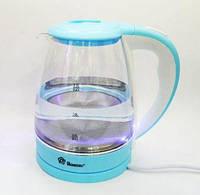 Электрический Чайник Domotec MS - 8214 Sky Blue, фото 1