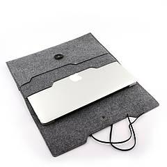 "Чехол для ноутбука Digital Wool Case 13"" Premium на завязке"
