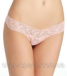 Hanky Panky Signature Lace Стрінги Bliss (рожевий)