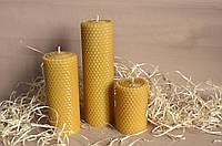 Набор свечей Соты. Свечи ручной работы