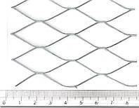 Сетка просечно-вытяжная (просечная) 17х40х1.0х0.5 оцинкованная