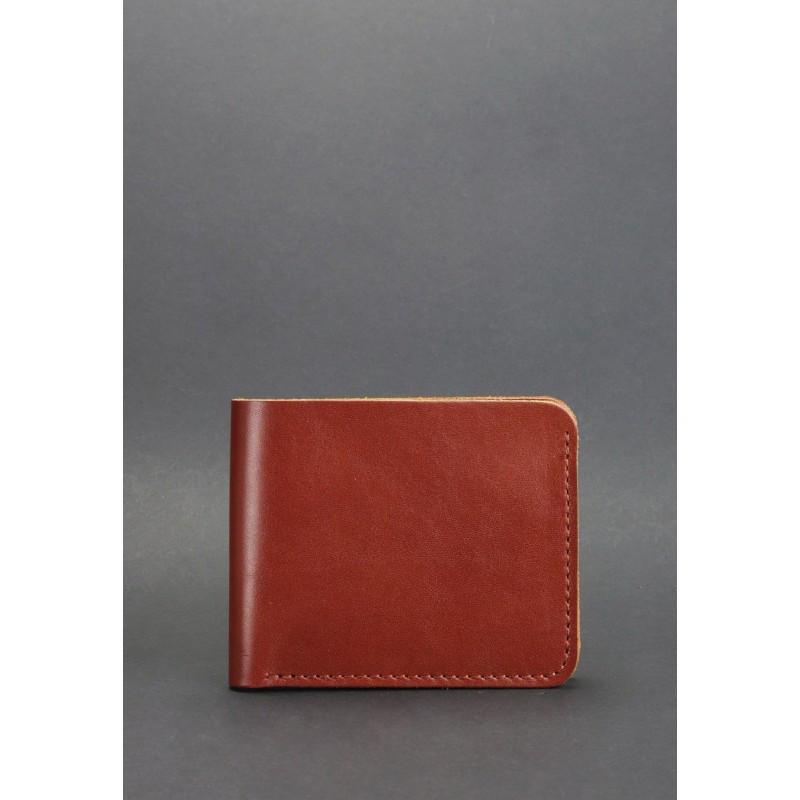 Портмоне 4.1 (4 кармана) Коньяк