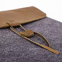 Чехол для ноутбука Digital Wool Case 13 кожаный клапан, фото 1