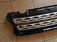 Решетка радиатора Range Rover Sport (2013-...) чёрная с серой сеткой, фото 2