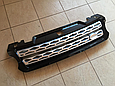 Решетка радиатора Range Rover Sport (2013-...) чёрная с серой сеткой, фото 3