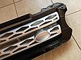 Решетка радиатора Range Rover Sport (2013-...) чёрная с серой сеткой, фото 4