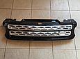 Решетка радиатора Range Rover Sport (2013-...) чёрная с серой сеткой, фото 6