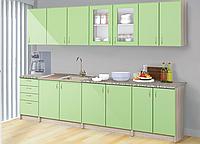 Кухня Мальвина (МДФ) 2.0 м со столешницей. Мебель для кухни.