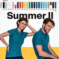 Поло мужские и женские, SOL'S, Франция 21 цвет 100% гребной ПИКЕ хлопок плотные 170 г/м2, фото 1