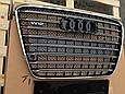 Решетка радиатора D-4 W12 (с Night Vision) на Audi A8 2011-2014, фото 4