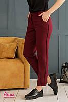 Женские прямые брюки с карманами 452255, фото 1