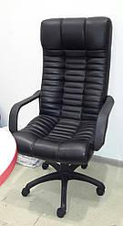 Кресло руководителя офисное черное (AMF, Украина)