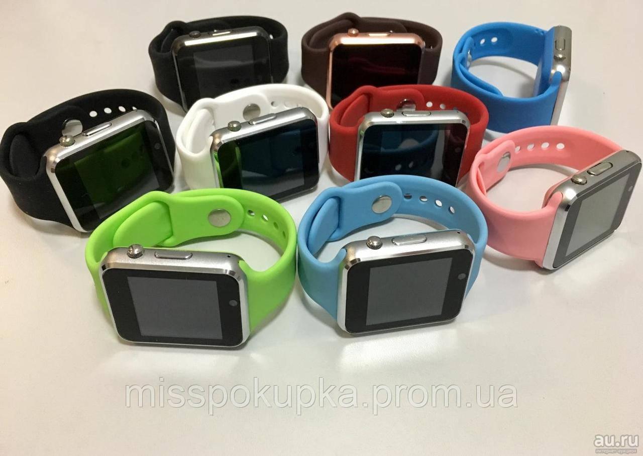 Розумні наручние годинник a1 стиль Apple чорний