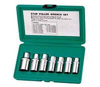Комплект шпильковертов 5-14 мм, 7 предметов Jonnesway AG010061, фото 1