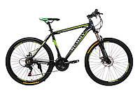 """Велосипед 26"""" Remmy ASTOR 19"""" AM DD черно-зеленый (м) AL"""