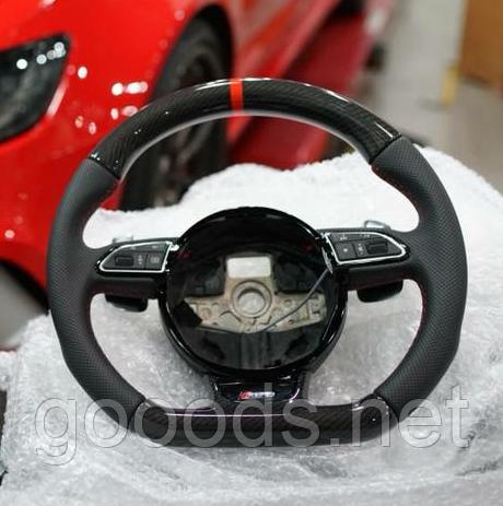 Карбоновый руль на Audi A4 / A5 / A7 / A8