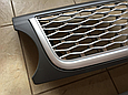 Решетка радиатора и жабры Range Rover Sport (2009-2013) Серая, фото 4