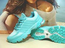 Жіночі кросівки BaaS Marathon бірюзові 39 р.
