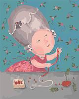 Картина по номерам Гапчинская Мои любимые бусики (KNG003) 40 х 50 см