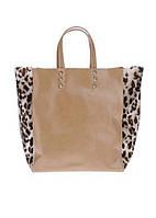 Светло-коричневая сумка Jacky&Celine