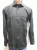 Мужская рубашка серая в офис