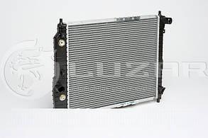 Радиатор охлаждения Авео автомат LRc CHAv05224  (L=480) (алюм-паяный) (LRc CHAv05224) ЛУЗАР