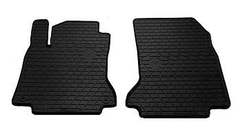 Коврики в салон резиновые передние для Mercedes GLA X156 2013- Stingray (2шт)