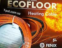 Теплый пол двужильный кабель 57,5 м в стяжку Fenix adsv18 1000 вт на 6,5 м2