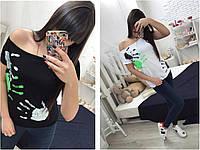 Женская футболка с ладошками, фото 1