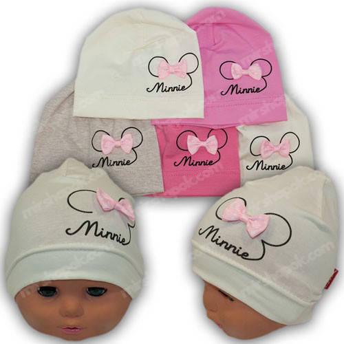 Детские шапки для новорожденных, р. 36-38