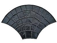 """Штамп полиуретановый """"Веер"""" для создания декоративного бетона, фото 1"""