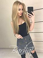 Женская замшевая юбка, фото 1