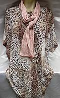 Туника леопардовая женская батальная, фото 1