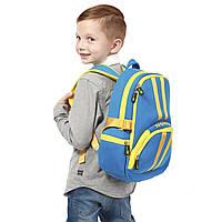 Школьный Рюкзак NoHoo Бамблби Синий 36х26х19 (NH019-1)
