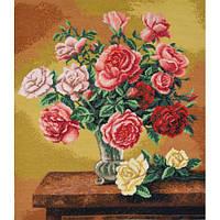 """Набор для вышивки крестом """"Букет роз"""""""