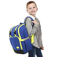 Школьный ранец Nohoo Синий 35х21х18 см (NH036)