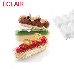 """Силиконовая форм для выпечки и заморозки """"Eclair (эклер)"""""""