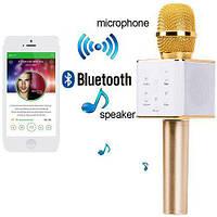 Портативный Безпроводной караоке микрофон Bluetooth Q7, фото 1