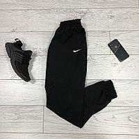 Спортивные штаны мужские Nike, черные трикотаж