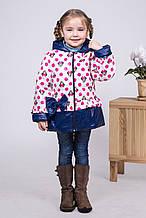 Красивая детская демисезонная куртка с Микки Маусами, р. 98-110