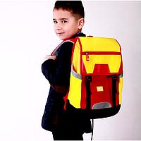 Школьный ранец NoHoo Красно-Желтый (NH039-1)