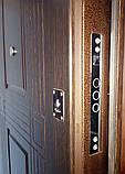 """Входная дверь в квартиру """"Квадро"""" серии """"Премиум плюс"""" (венге), фото 3"""