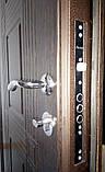 """Входная дверь в квартиру """"Квадро"""" серии """"Премиум плюс"""" (венге), фото 4"""
