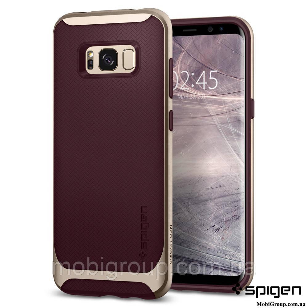Чехол Spigen для Samsung S8 Neo Hybrid, Burgundy, фото 1