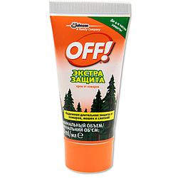 Крем от комаров и клещей OFF Extreme 50мл